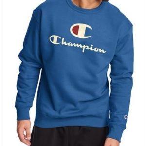 NWT Champion Powerblend Big C Sweatshirt